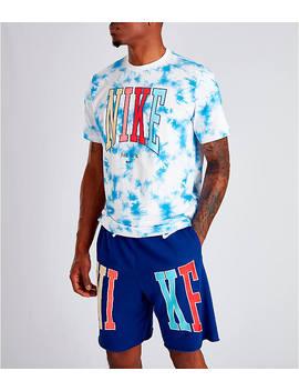 Men's Nike Sportswear Rwb Tie Dye T Shirt by Nike