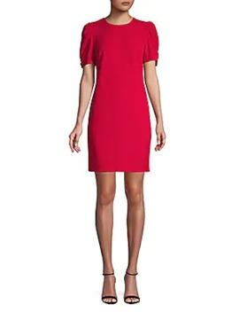 Tulip Sleeve Sheath Dress by Karl Lagerfeld Paris
