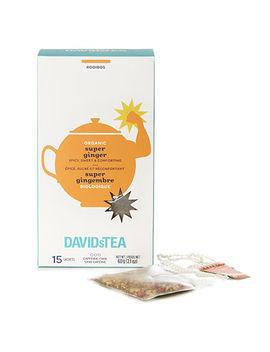 Organic Super Ginger Sachets by Davi Ds Tea