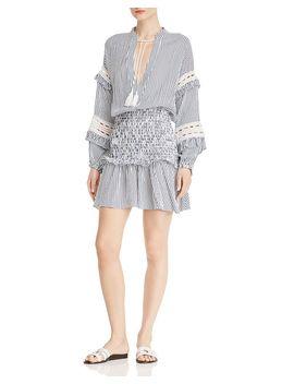 smocked-waist-flounced-dress---100%-exclusive by aqua