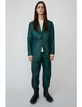 Ripstop Suit Jacket Forest Green by Acne Studios