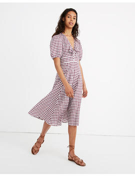 Sessùn™ Linen Juliet Midi Dress by Madewell
