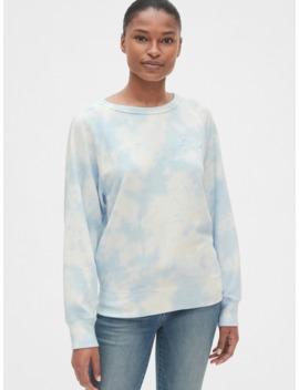 gap-logo-tie-dye-raglan-sweatshirt by gap