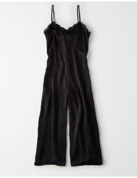 Ae Studio Lace Trim Jumpsuit by American Eagle Outfitters