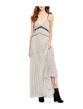 Clip Dot Maxi Dress by Chelsea &Amp; Violet