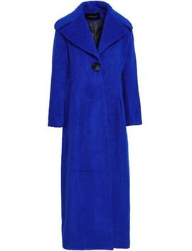 Belle Brushed Wool Blend Coat by Paper London