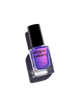 Cirque Colors Desert Bloom Collection   Shimmer Holographic Sparkle Nail Polish   Dusky Skies   Blue Violet   0.37 Fl. Oz. (11 Ml)   Vegan, Cruelty Free, Non Toxic Formula by Cirque Colors