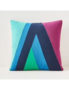 Margo Selby Dramatic Geo Pillow Cover by West Elm