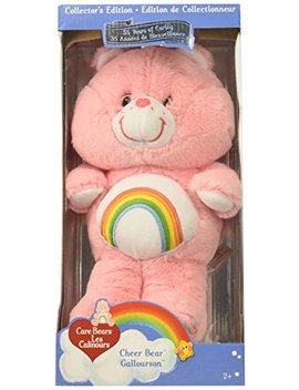 "Care Bears Classic 13"" Cheer Plush, Pink by Care Bears"