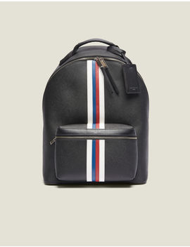 Saffiano Leather Backpack by Sandro Paris