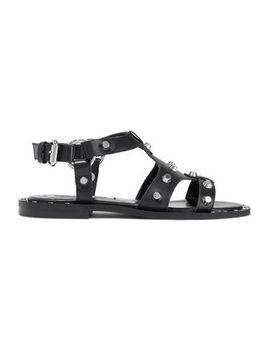 Studded Leather Sandals by Mc Q Alexander Mc Queen