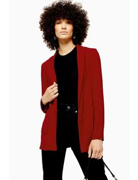 Red Chuck On Jacket by Topshop