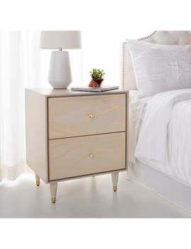 Safavieh Couture Broderick Wave Nightstand by Safavieh