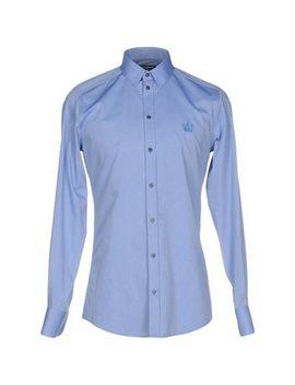 Dolce &Amp; Gabbana Solid Color Shirt   Shirts by Dolce &Amp; Gabbana