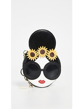 Evy Stace Face Coin Pouch by Alice + Olivia