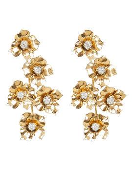 Myra Flower Drop Earrings by Jennifer Behr