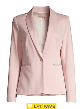 Ruched Sleeve Vintage Blazer by Philosophy Apparel