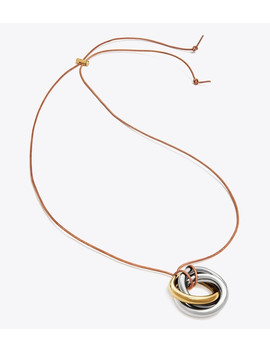 Knot Pendant Necklace by Tory Burch