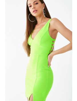 Caged Bodycon Mini Dress by Forever 21