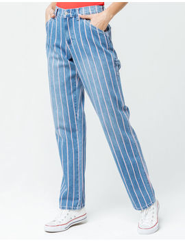 Dickies Peppermint Stripe Carpenter Pants by Dickies