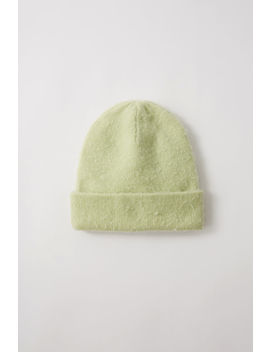 Doube Layer Beanie Pale Green by Acne Studios
