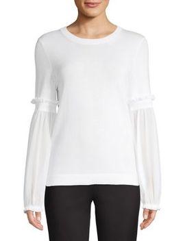 Bishop Sleeve Sweater by Michael Michael Kors