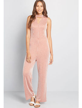 For The Bliss Of It Jumpsuit by Modcloth