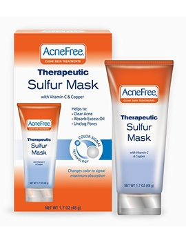 Acnefree Therapeutic Sulfur Mask, 1.7 Ounce (Pack Of 2) by Acne Free