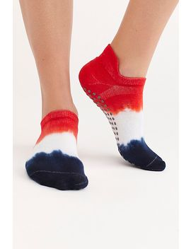 Lady Liberty Ii Ombre Grip Socks by Great Soles