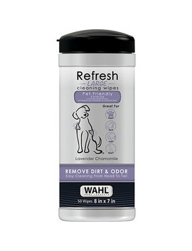 Wahl Pet Wipes Refresh Large Lavender 50 Ct by Shop This Collection