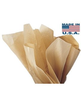 Acid Free Kraft Tissue Paper   100 Sheets 15 Inch X 20 Inch Ph Neutral Premium Tissue Paper A1 Bakery Supplies by A1 Bakery Supplies