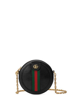 Ophidia Mini Circle Camera Bag by Gucci
