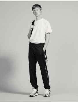 Track Pant Style Jogging Bottoms by Sandro Paris