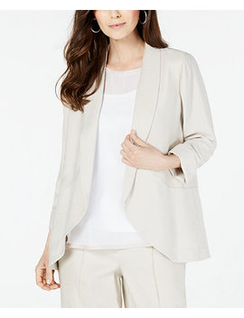 Shawl Collar Soft Blazer, Created For Macy's by General