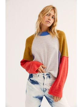 Opposites Attract Cashmere Jumper by Free People