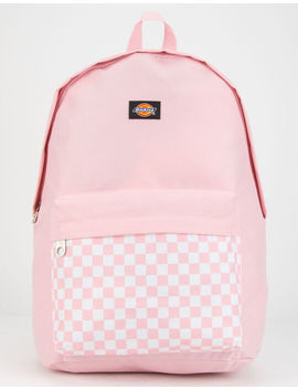 Dickies Red Label Checkered Pink Backpack by Dickies