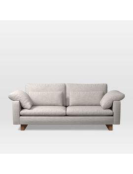 "Harmony 82"" Sofa (2.5 Seater), Twill, Wheat by West Elm"