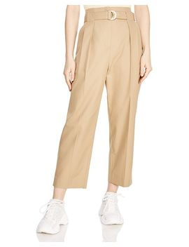 Arthis Cropped Wide Leg Pants by Sandro
