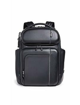 Tumi Men's Arrivé Barker Backpack, Black, One Size by Tumi