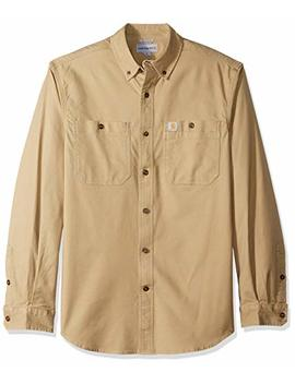 Carhartt Men's Rugged Flex Rigby Long Sleeve Work Shirt by Carhartt