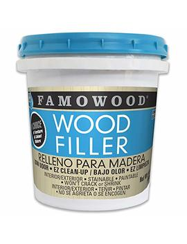 Famo Wood 40022126 Latex Wood Filler   Pint, Natural by Famo Wood