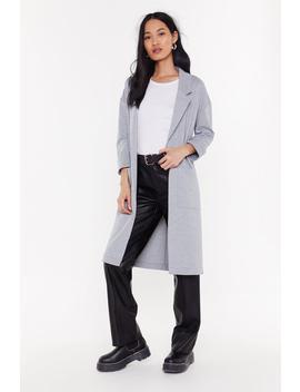 Longline Overcoat by Nasty Gal
