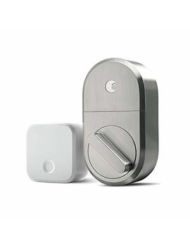 August Smart Lock + Connect, Satin Nickel by August