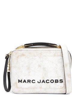 The Box Small Leather Crossbody by Marc Jacobs