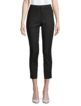 Powerstretch Tapered Crop Trousers by Saks Fifth Avenue