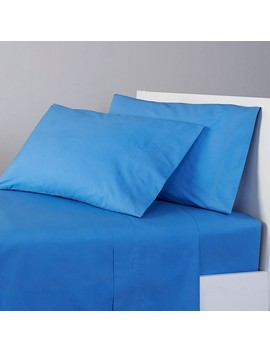 Classic Percale Solid Sheet Set by The Company Store
