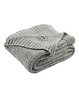 Cozy Knit Cotton Throw by Safavieh