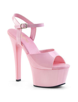 "Pleaser Sexy 6"" Heel Stripper Dancer Most Comfortable Baby Pink Platform Shoes by Pleaser"