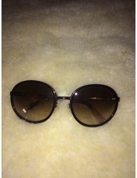 Etro Ladies Round Frame Gradient Sunglasses Made In Italy by Etro