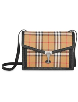 Check Crossbody Bag by Burberry